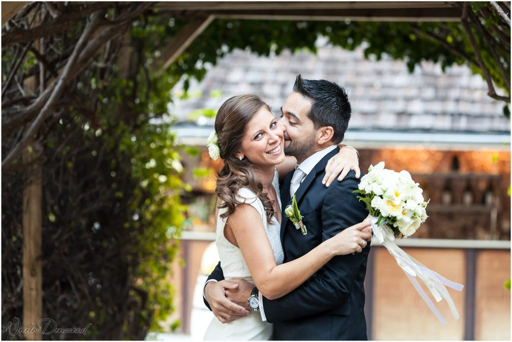photos de mariés au LUX Hotel Saint Gilles
